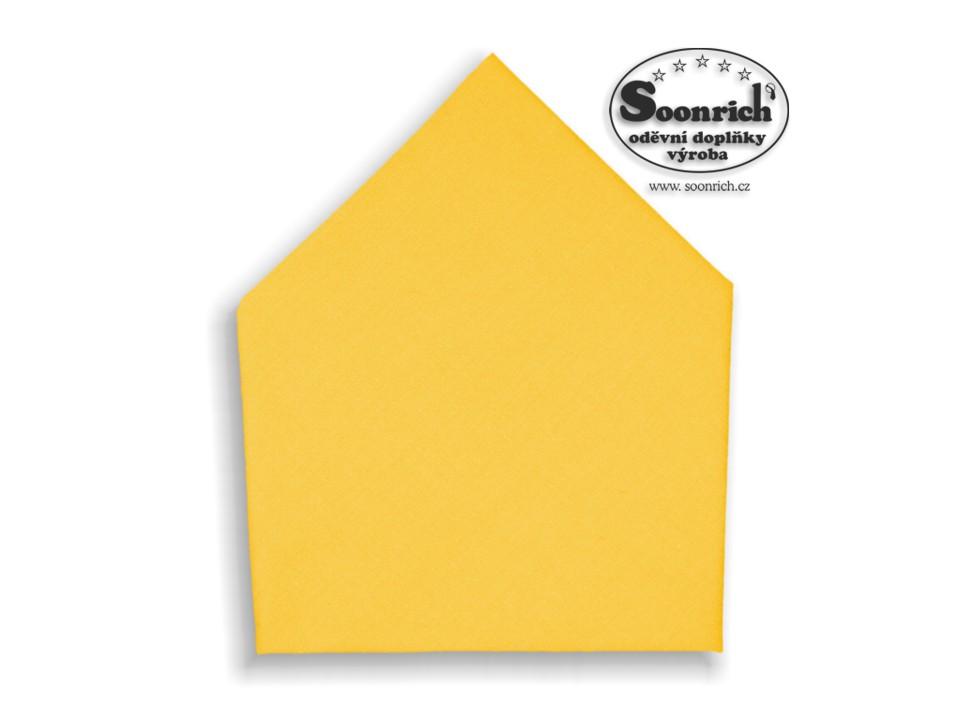 Soonrich, šátek dětský žlutý, bsd203