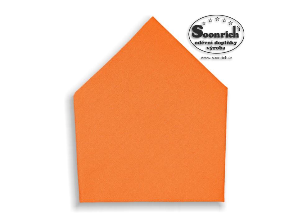 Soonrich, šátek dětský oranžový, bsd204