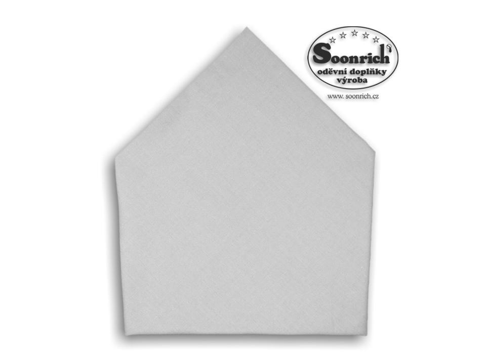 Soonrich, šátek dětský šedý, bsd218