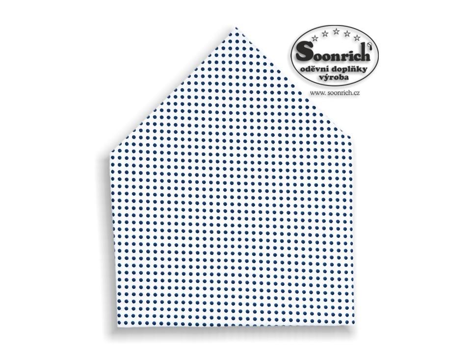 Soonrich, šátek modrý puntík, bsp025