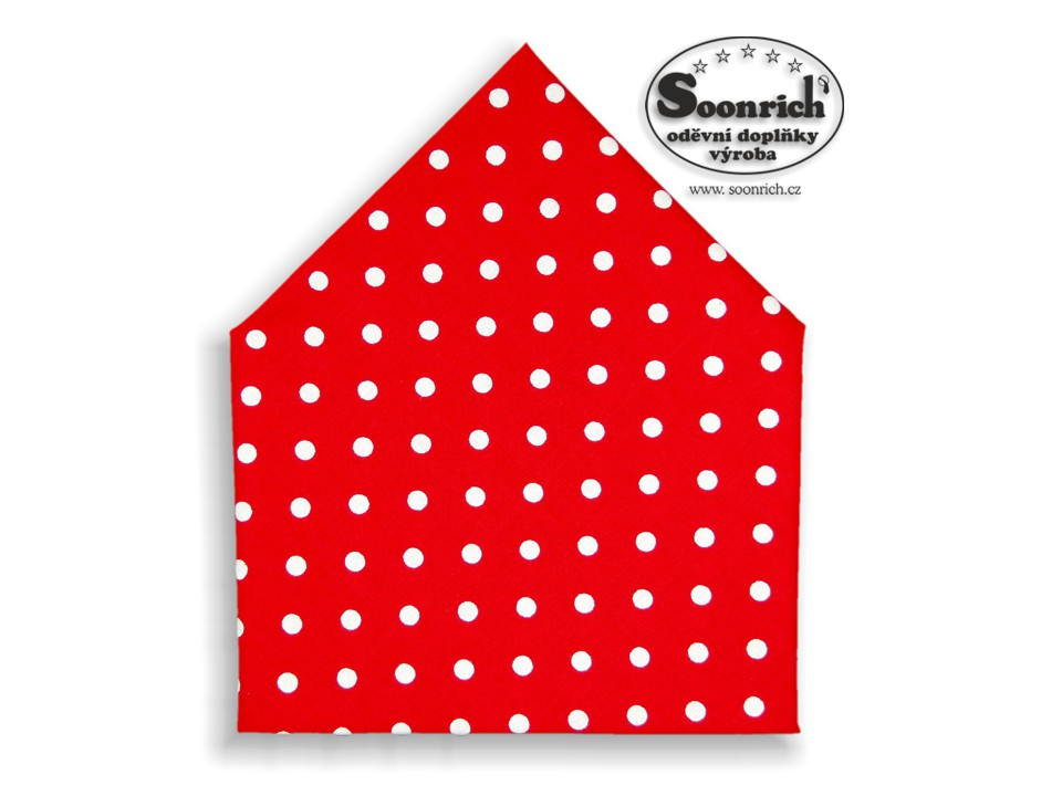 Soonrich, šátek puntíky, bsp053