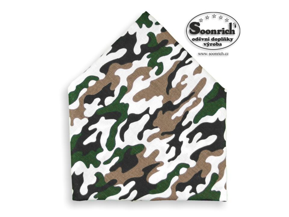 Soonrich, šátek maskáč, bsp257