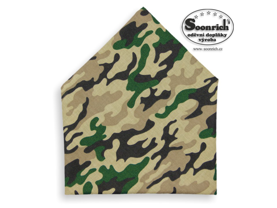 Soonrich, šátek maskáč, bsp258