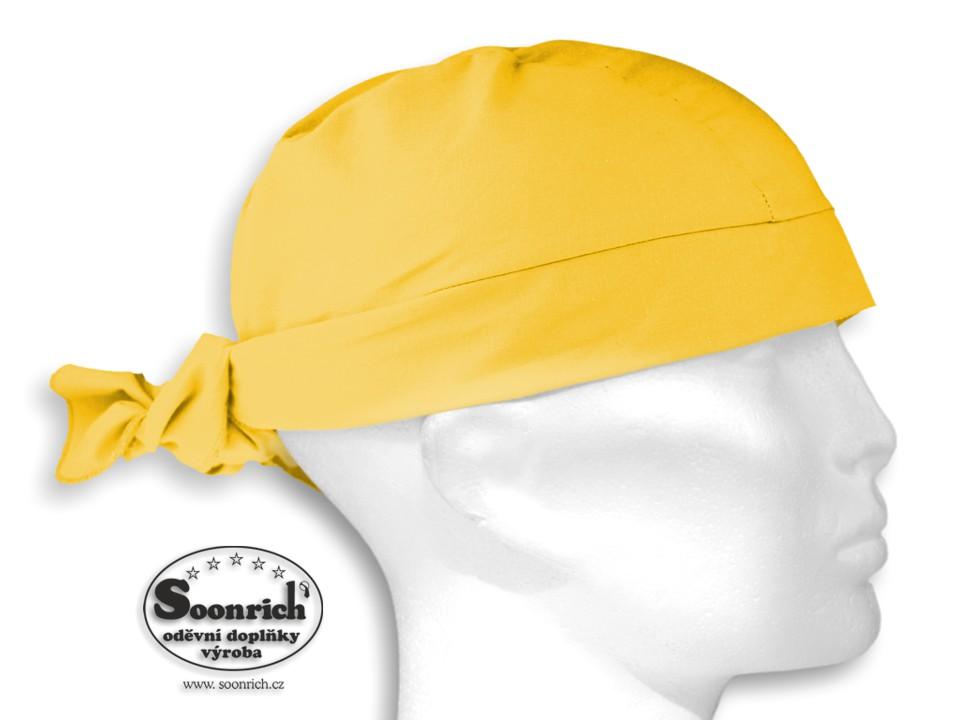Soonrich, šátek pirát žlutý, bsv203