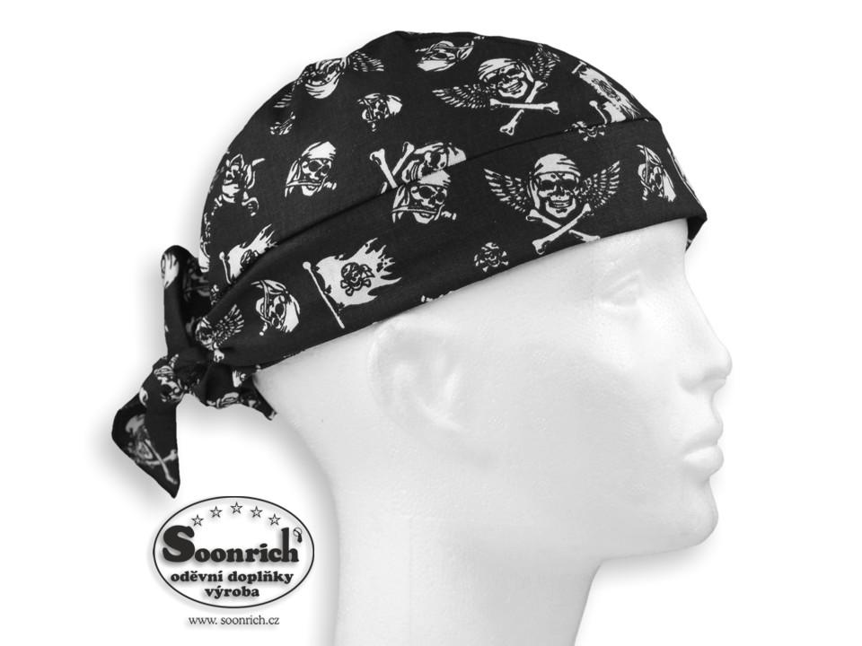 Soonrich, šátek pirát lebky, bsv232