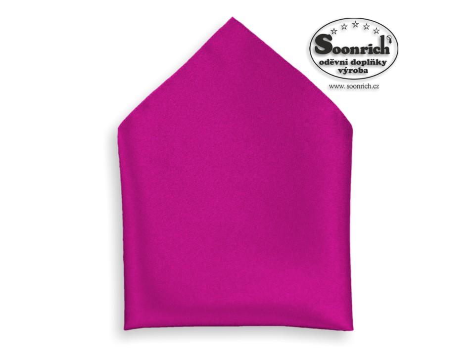 Soonrich, kapesník purpurový společenský , kab010