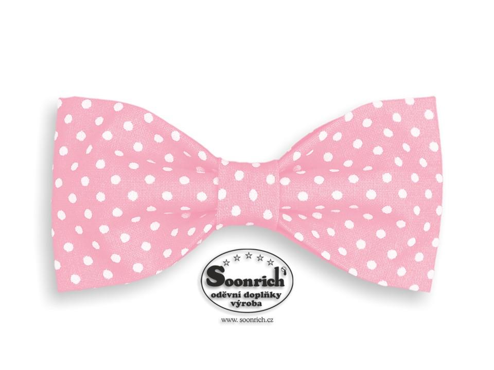 Soonrich, motýlek puntík růžový, mob010