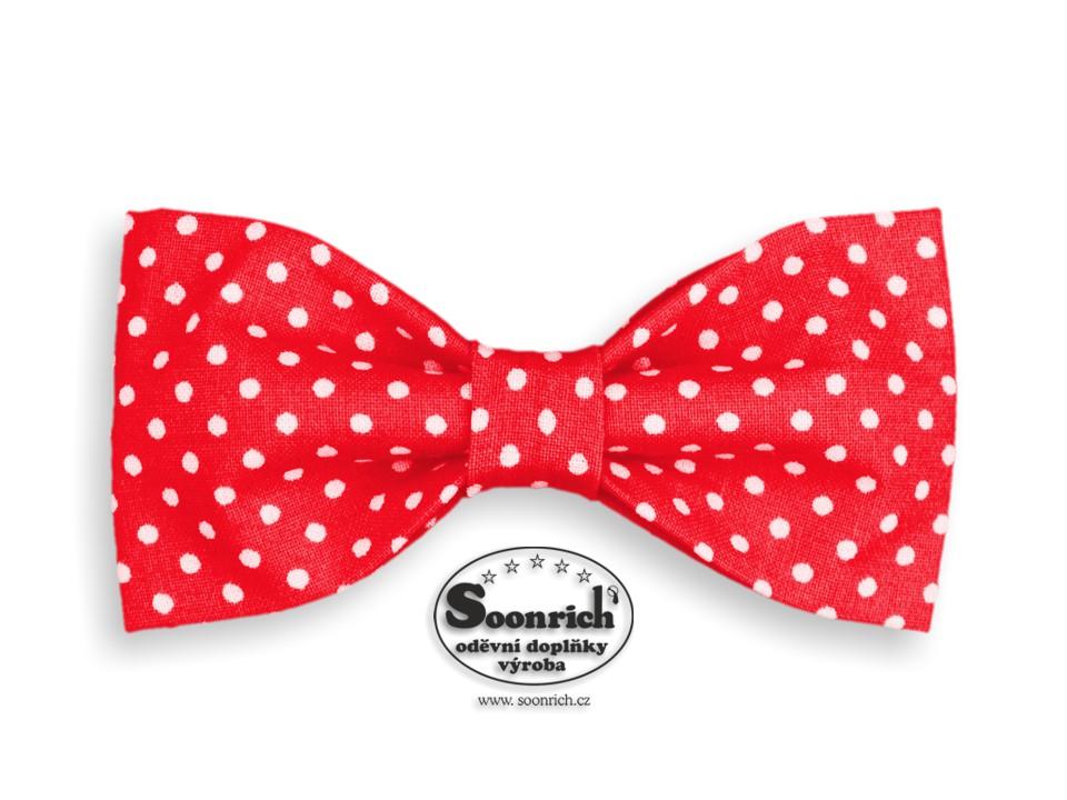 Soonrich, motýlek puntík červený, mob014