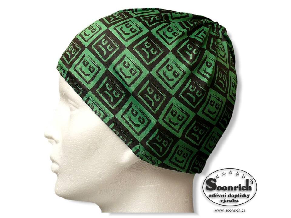 6cc41f1c633 multifunkční šátek zelený